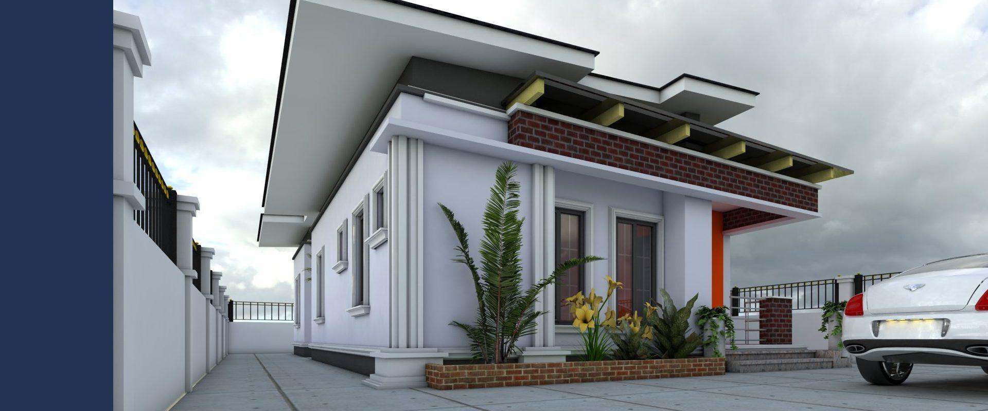 3-Bedroom Detached Bungalow