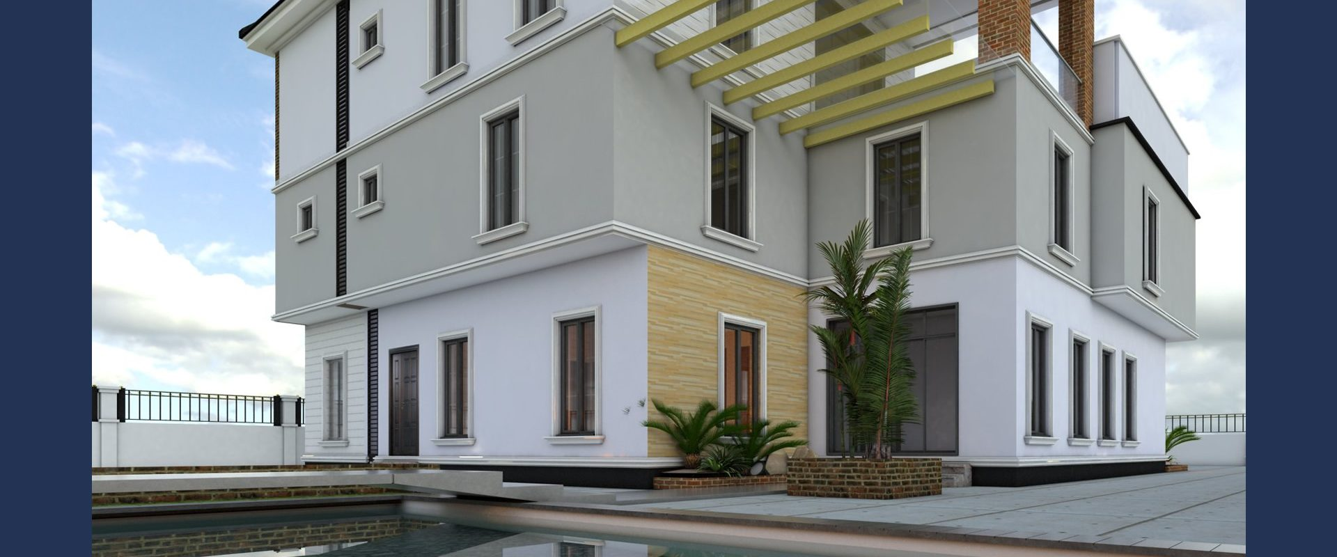 5-Bedroom Triplex with Swimming Pool